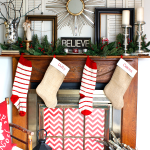 Collected Christmas Mantel | MyBlessedLife.net