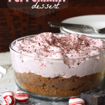chocolate peppermint dessert