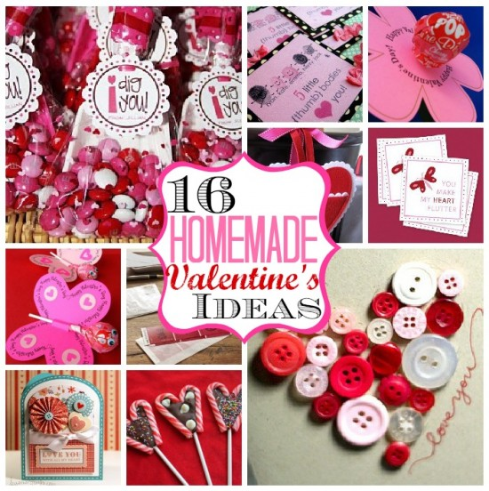 Homemade Valentine's Ideas