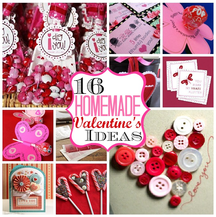 16 Homemade Valentine\'s Ideas