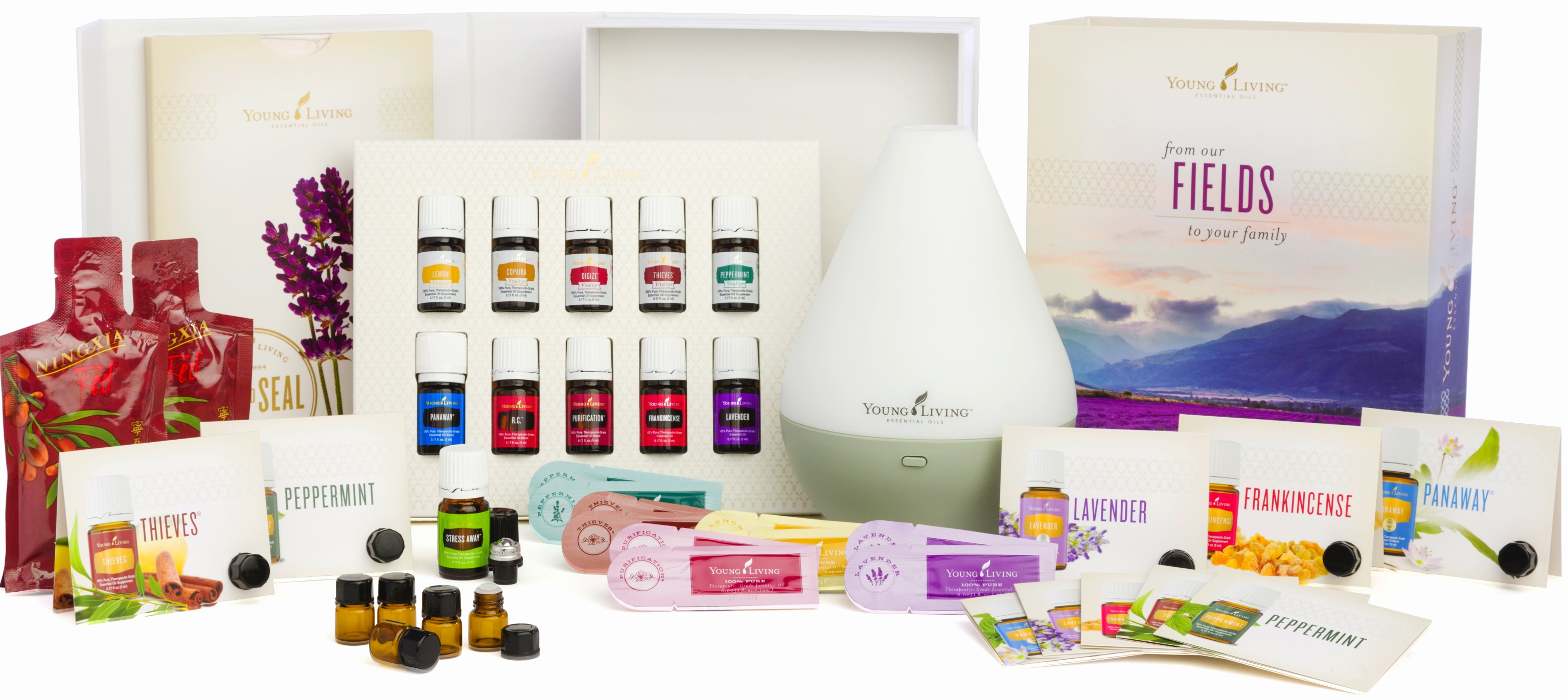 Join Young Living Essential Oils - Premium Starter Kit