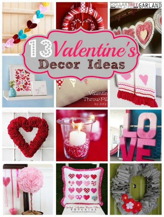 Valentine s day decorating ideas native home garden design for Valentine decorations to make at home