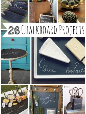 chalkboard projects