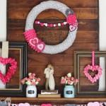 Valentine's Mantel | MyBlessedLife.net