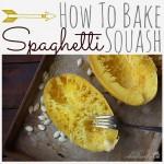 Spaghetti Squash {Easy How-To}