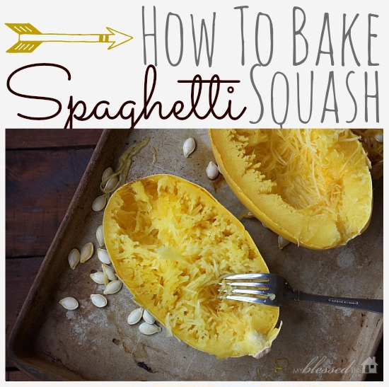 Spaghetti squash easy how to for What to make with spaghetti squash
