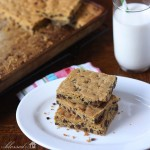 Chocolate Chip Bar Cookie Square