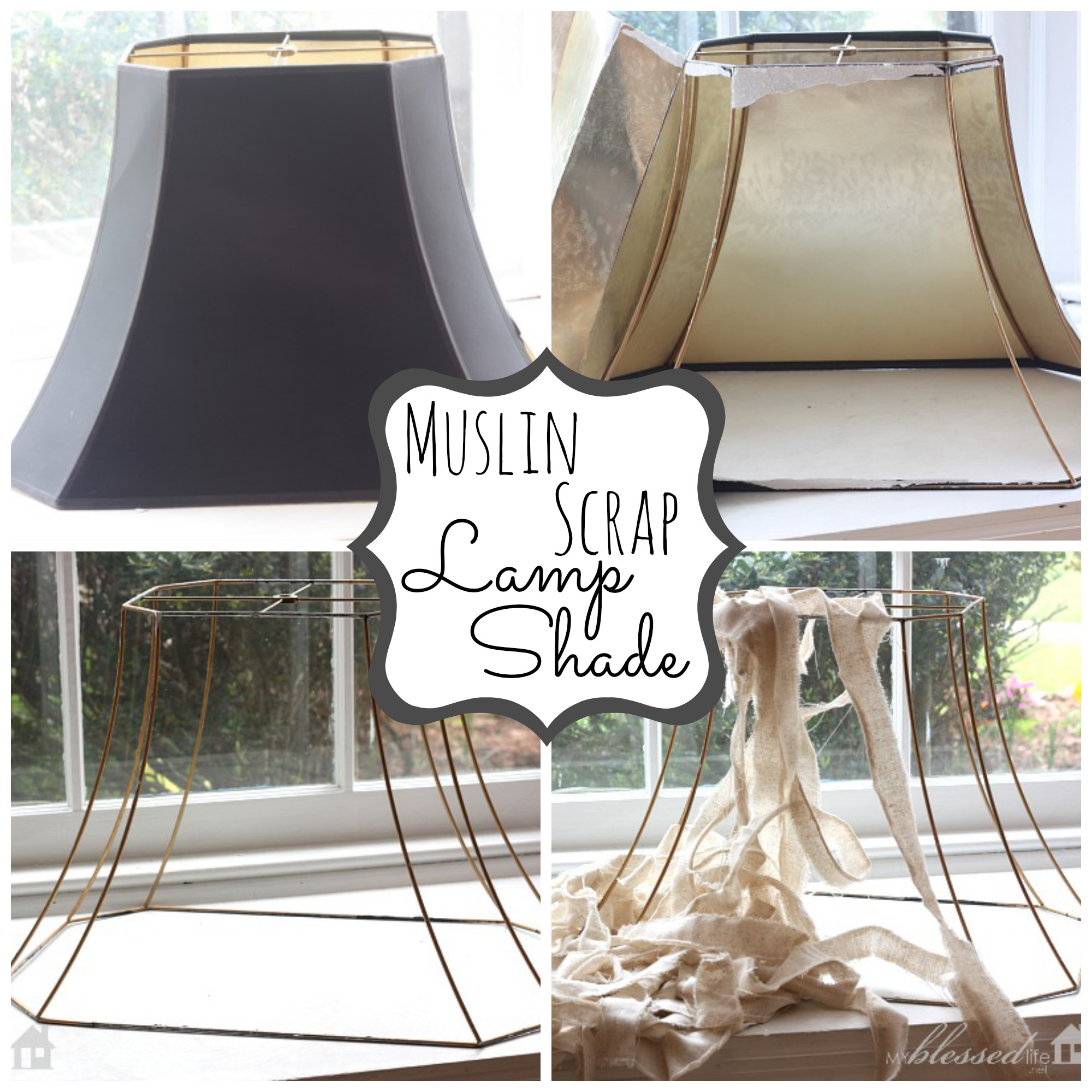 Vintage Lamp Makeover My Blessed Life