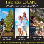 BOB Strollers Vacation Sweepstakes {And $100 Spa Finder Giveaway}