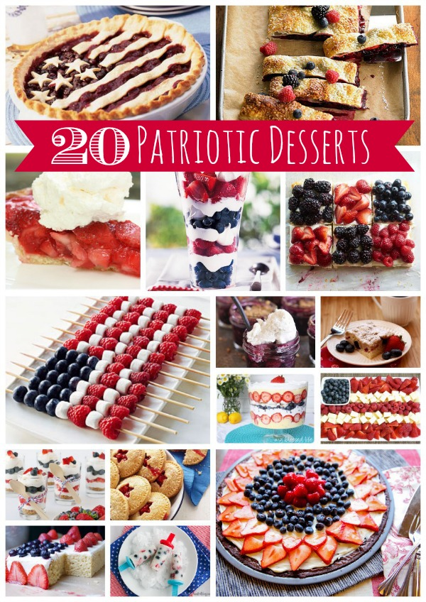 4th of july recipes cocktails