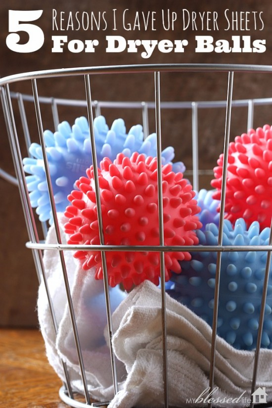 5 Reasons I Gave Up Dryer Sheets For Dryer Balls