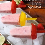 Strawberry Lime Popsicle Recipe