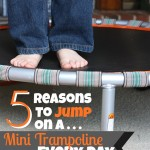 5 Reasons I Jump On A Rebounder {Almost} Every Day