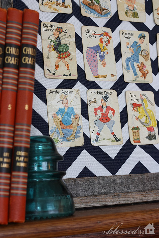 DIY Playing Card Specimen Art