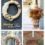 5 Fall Ways To Decorate Your Fall Door | MyBlessedLife.net
