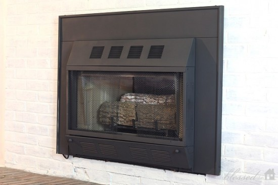 Fireplace Makeover 11