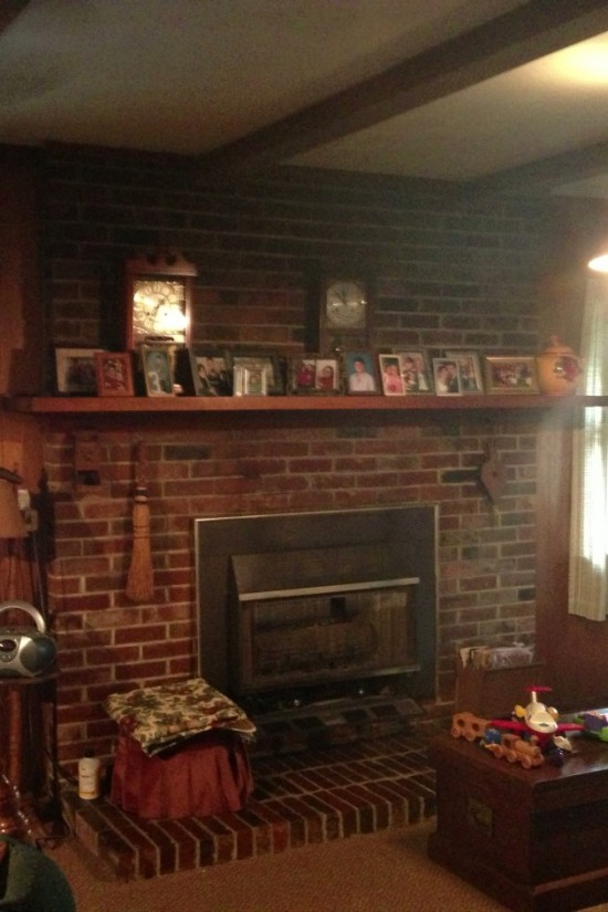 Fireplace Makeover 16