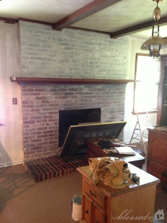Fireplace Makeover 3