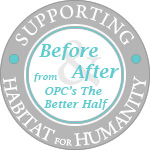 Before & After DIY Contest {In Support of Habitat for Humanity}