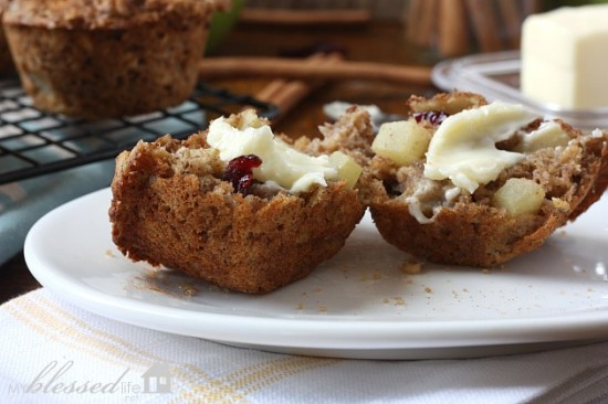Apple Cinnamon Muffins 4