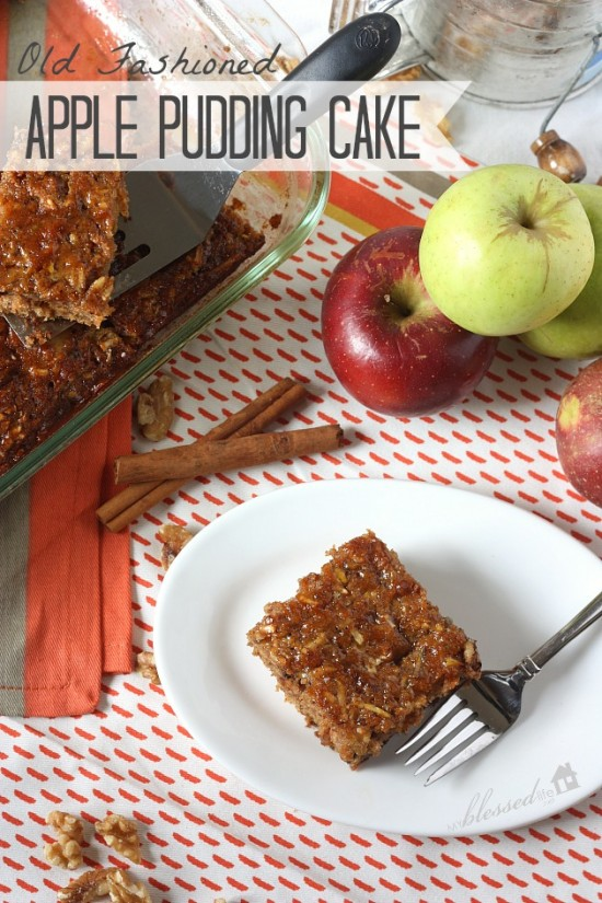 Apple Pudding Cake | MyBlessedLife.net