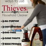 10 Ways To Use Thieves Household Cleaner {And Other Thieves Products!}