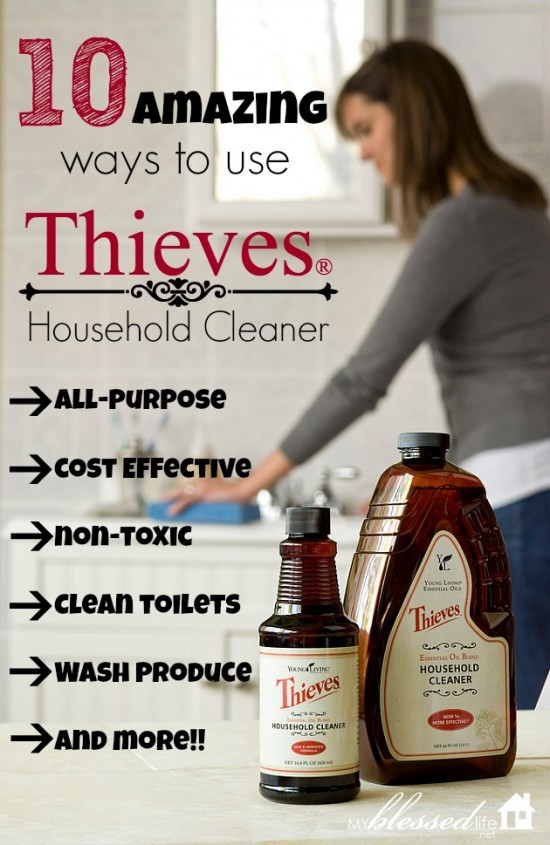 Use the same cleaner on your toilets and your produce! No joke!