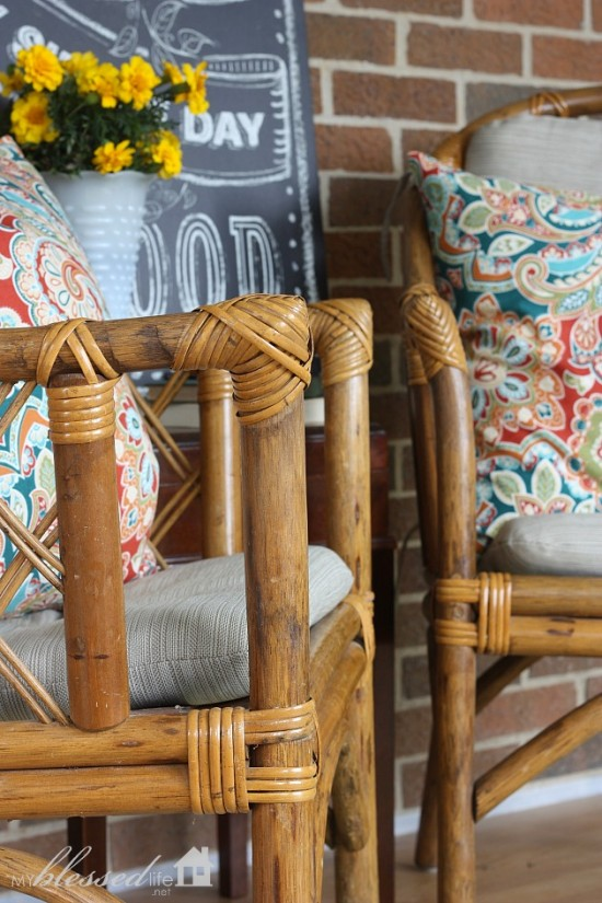 Beautiful $1 Bamboo Chairs | MyBlessedLife.net