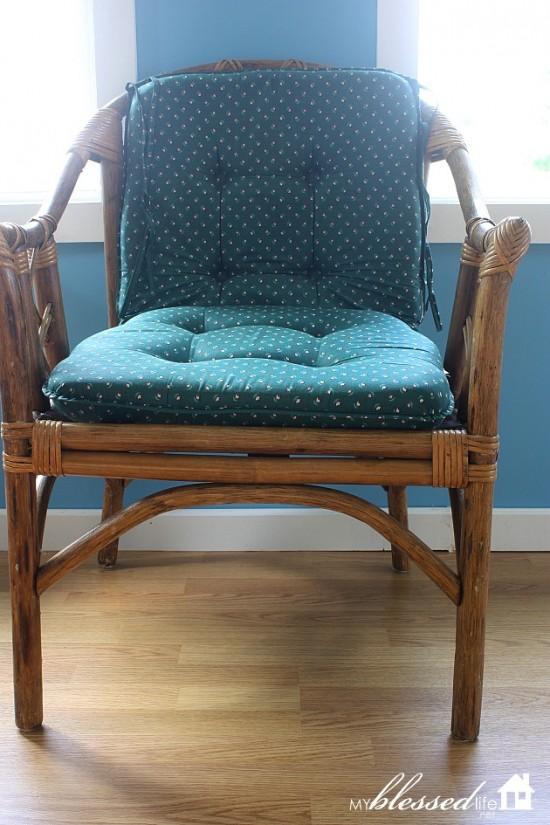 Yard Sale Bamboo Chair 8