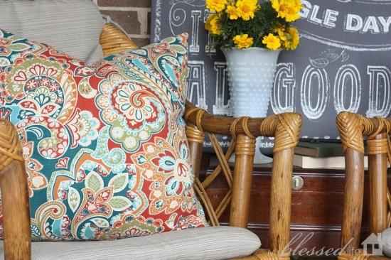 Beautiful $1 Bamboo Chairs   MyBlessedLife.net