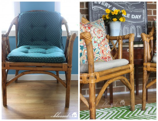 Bamboo Chairs From Drab To Fab!   MyBlessedLife.net