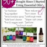 How Essential Oils SAVE Money!