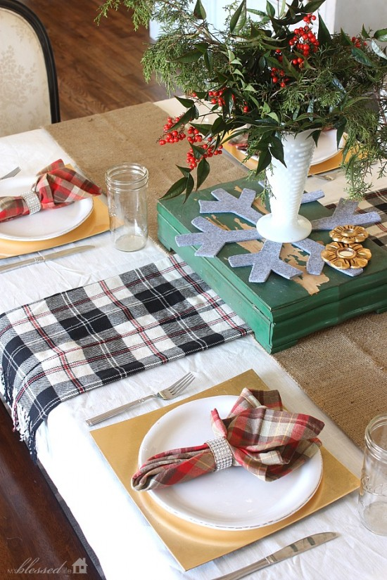 Cottage Christmas Home Tour   MyBlessedLife.net
