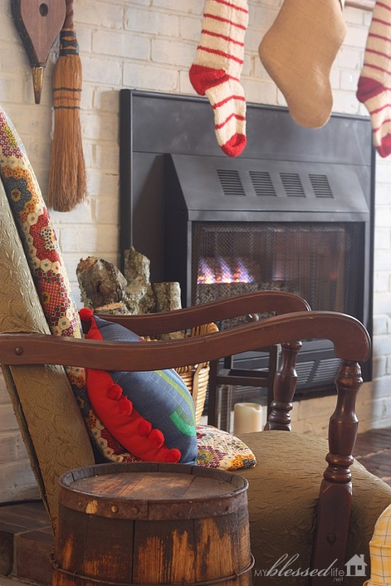 Cottage Christmas Home Tour | MyBlessedLife.net