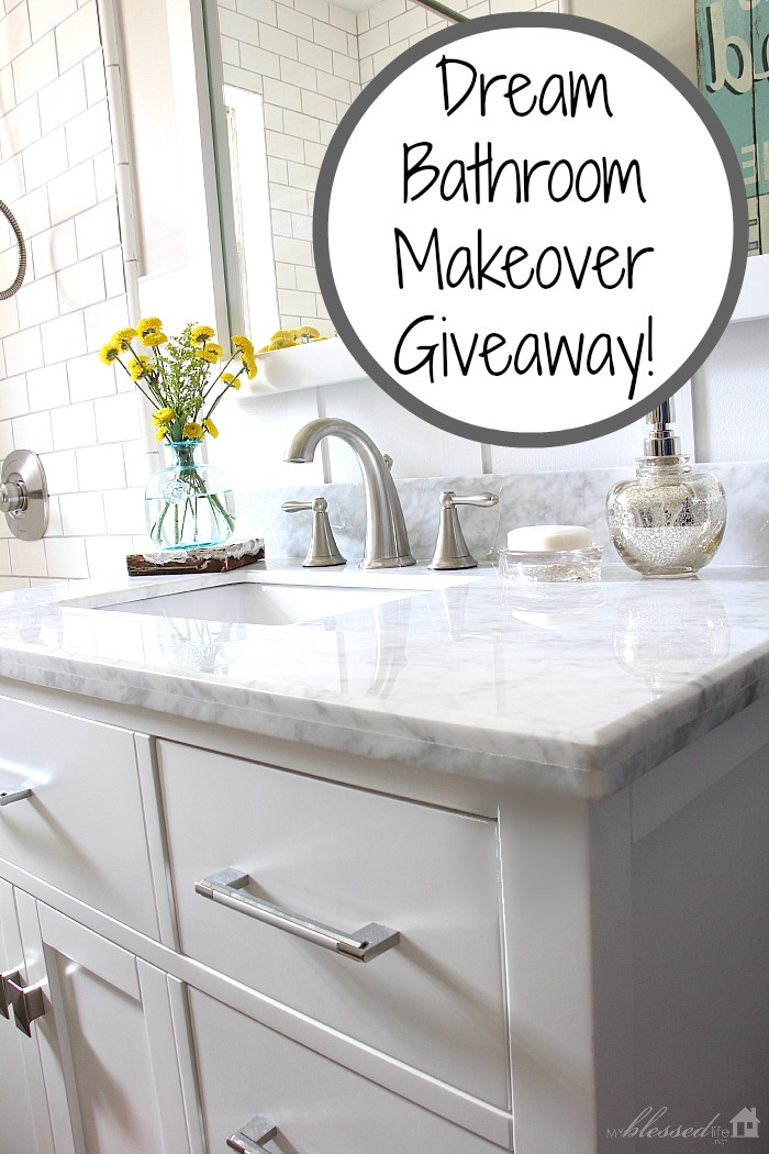 Dream Bathroom Makeover Giveaway | MyBlessedLife.net
