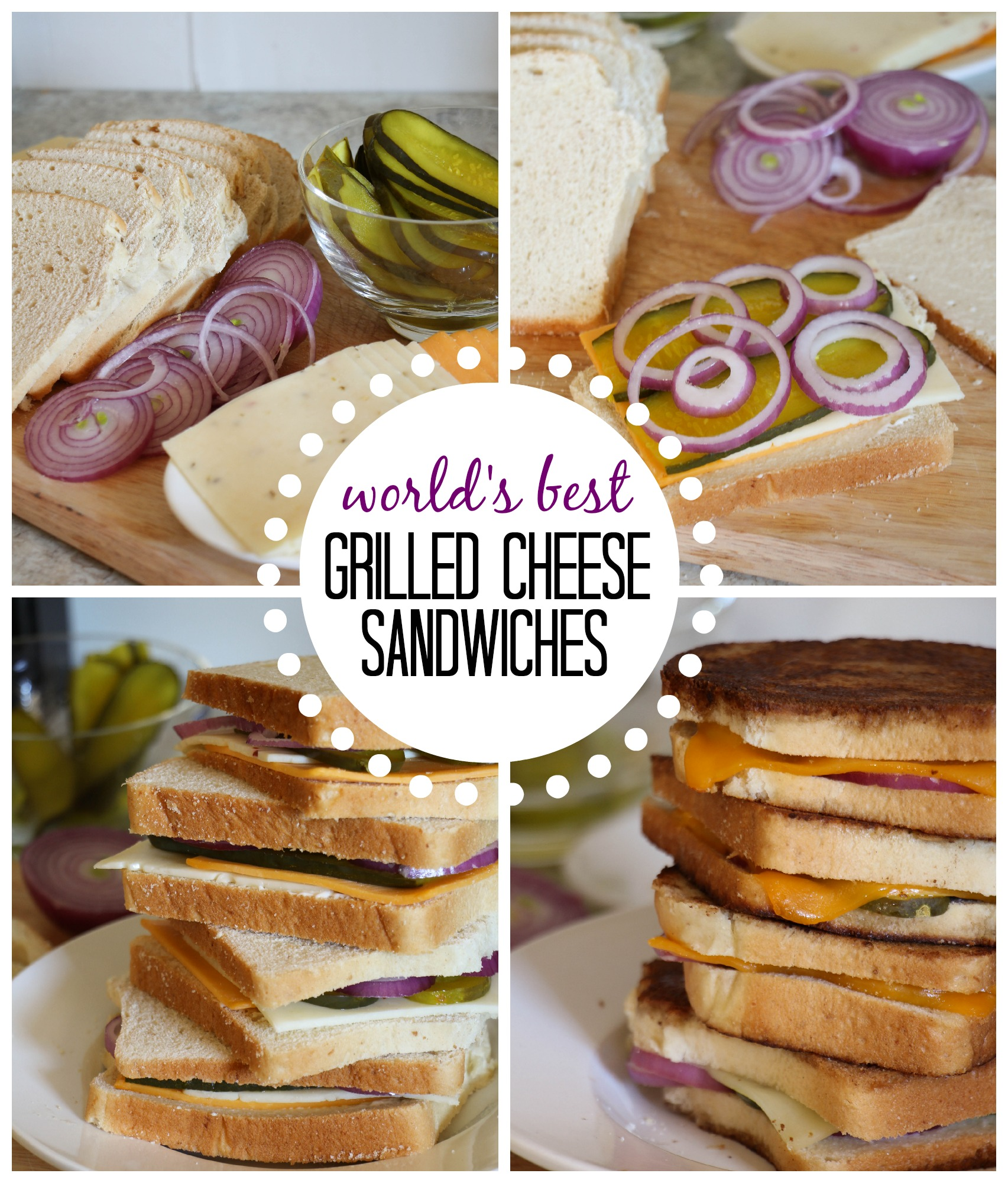 World's Best Grilled Cheese Sandwich | MyBlessedLife.net