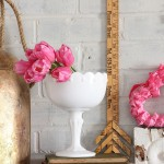 Pretty And Pink Valentine Mantel 4