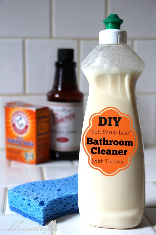 Diy Non Toxic Bathroom Cleaner Detox Your Home Series