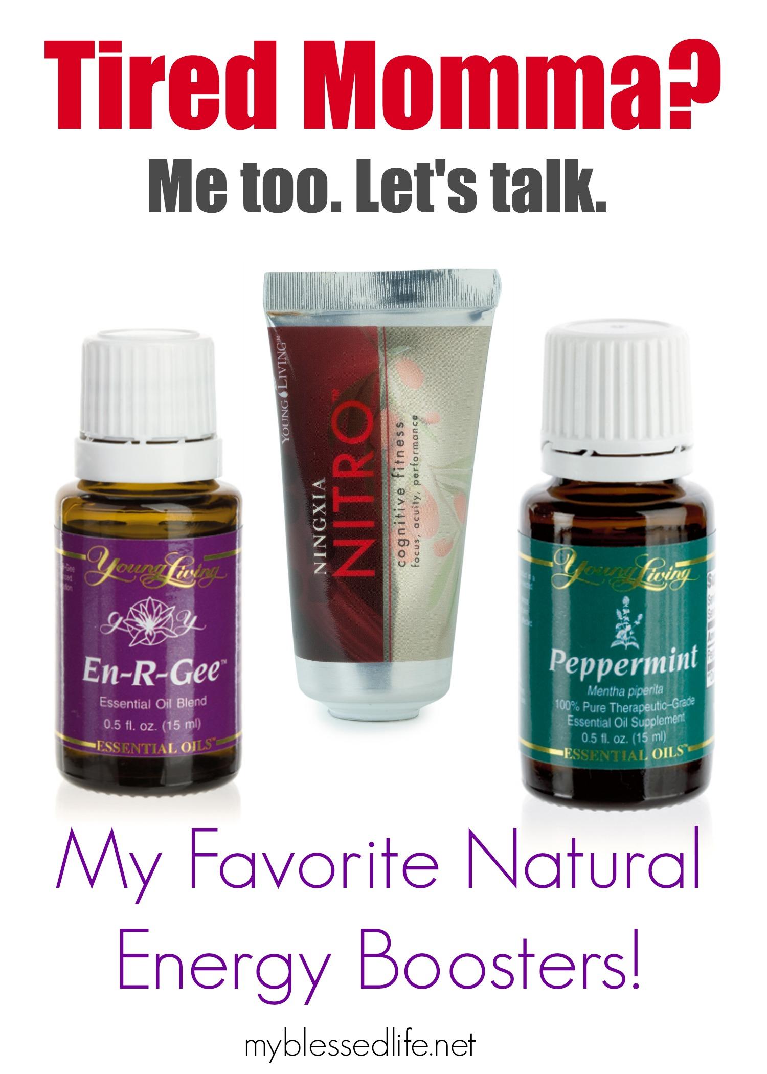 Amazing Natural Energy Boosters | MyBlessedLife.net