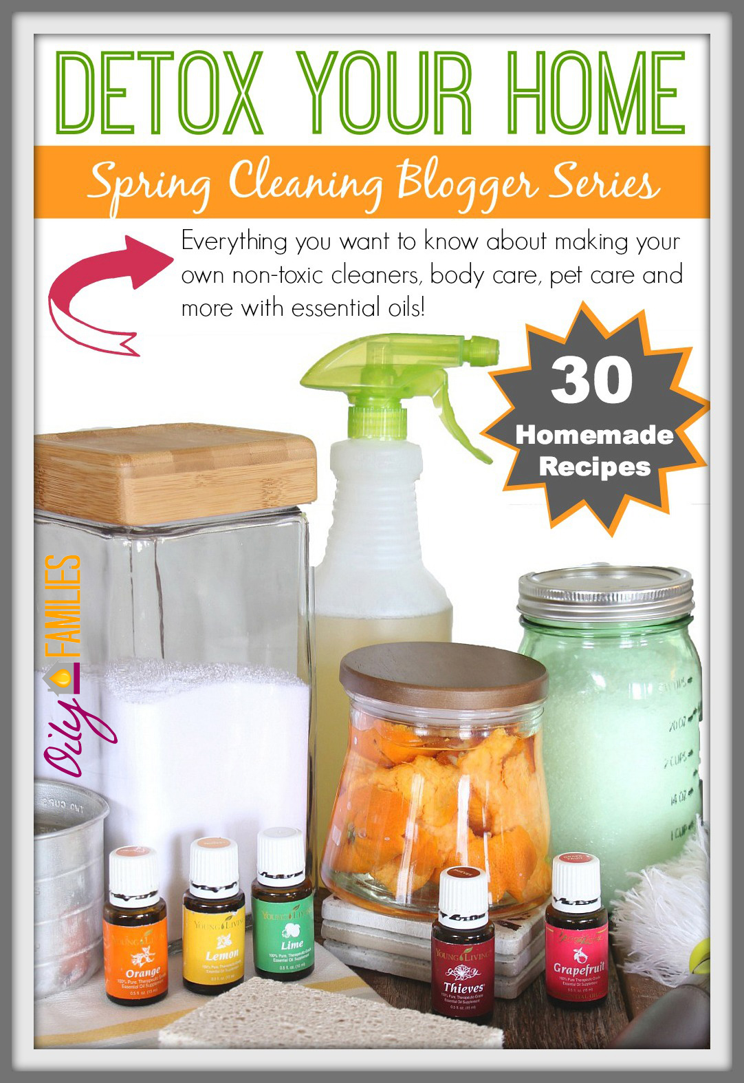Detox Your Home | Spring Cleaning Blogger Series