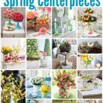 spring centerpieces