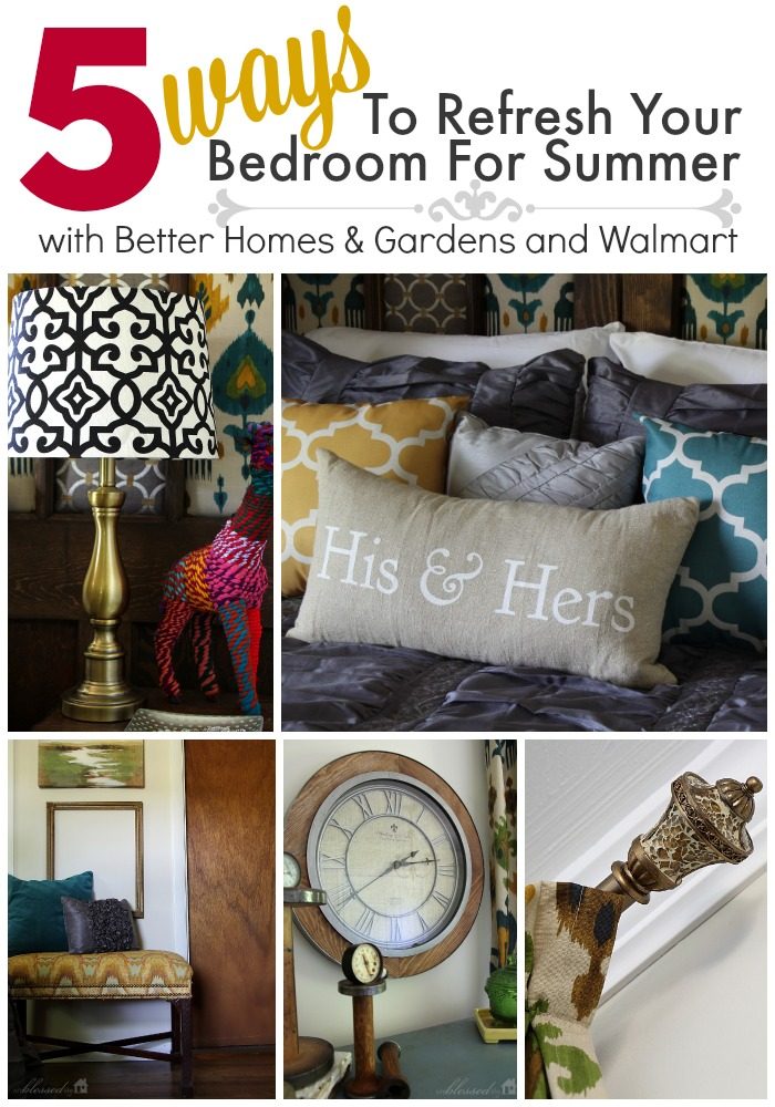 5 Ways to Refresh Your Bedroom For Summer | MyBlessedLife.net
