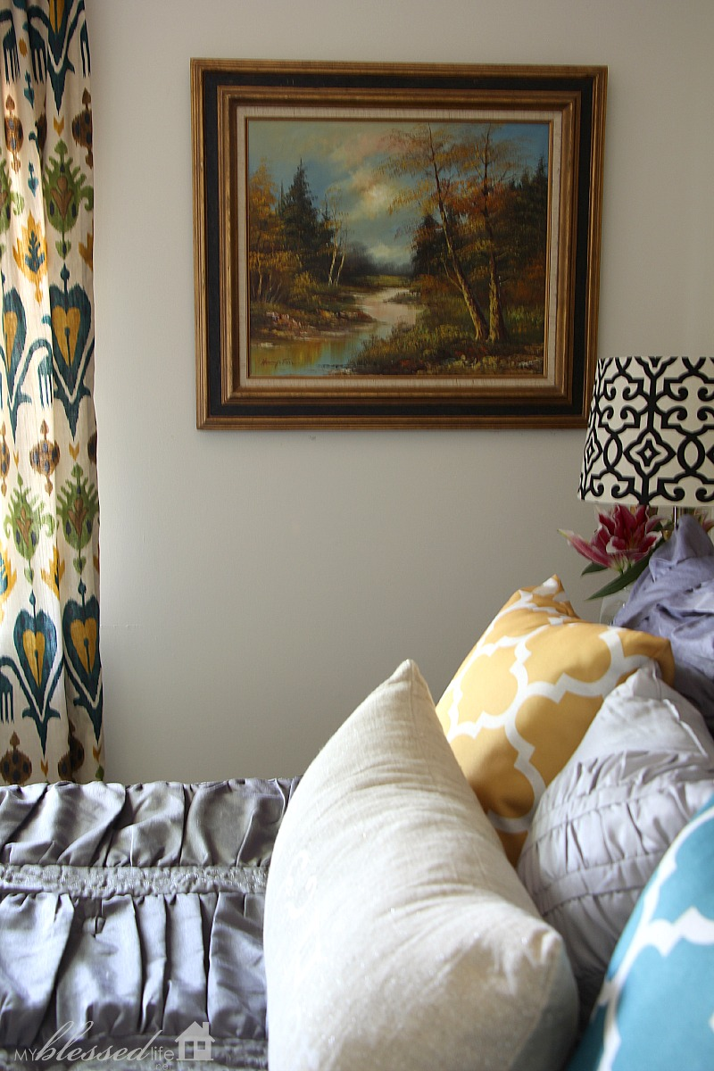 Industrial Glam Master Bedroom Makeover Reveal   MyBlessedLife.net