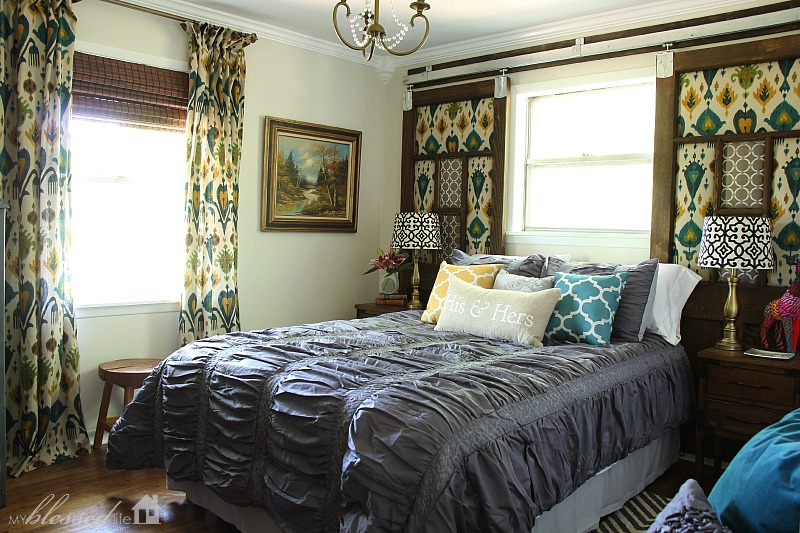 Industrial Glam Master Bedroom Makeover Reveal | MyBlessedLife.net