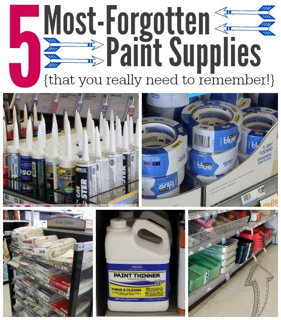 Most Forgotten Paint Supplies.jpg