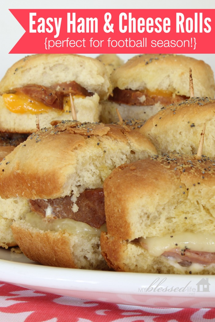 Easy Ham And Cheese Rolls | MyBlessedLife.net