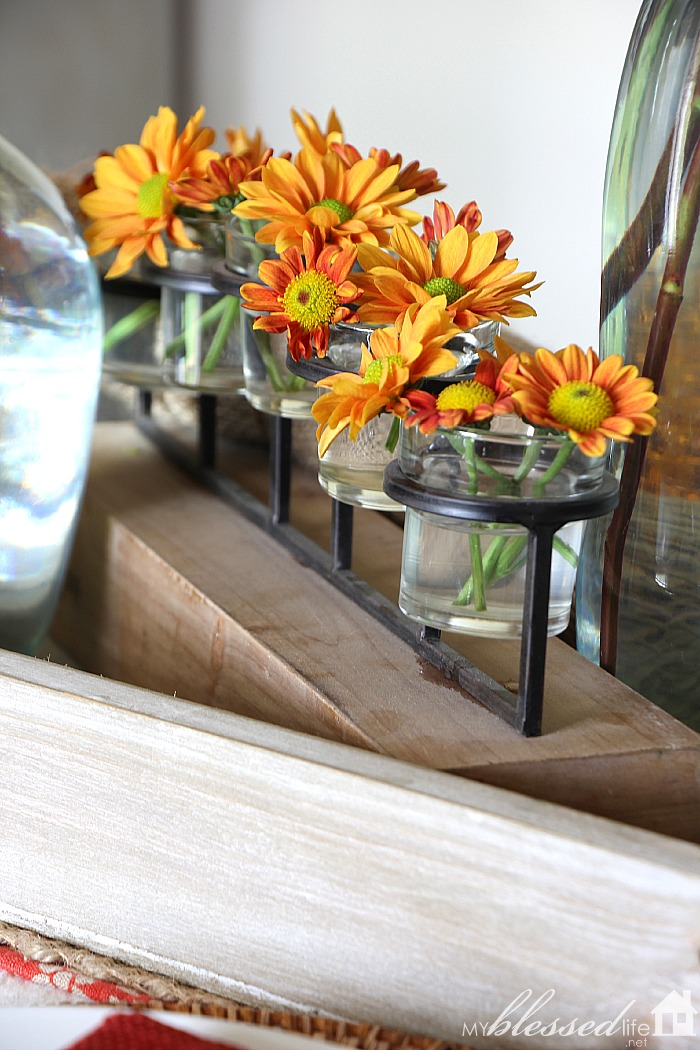 Simple Layered Fall Tablescape | MyBlessedLife.net