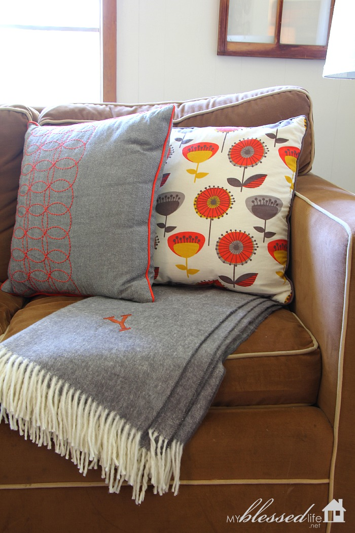 Decorating with Throws & Quilts | MyBlessedLife.net