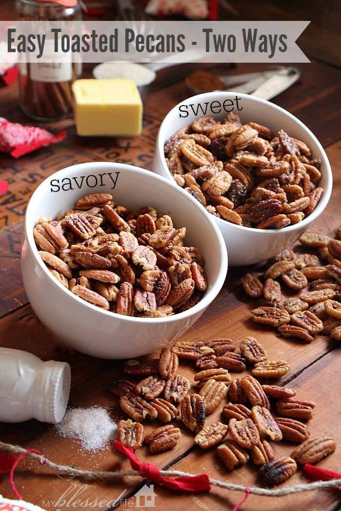 Easy Toasted Pecans