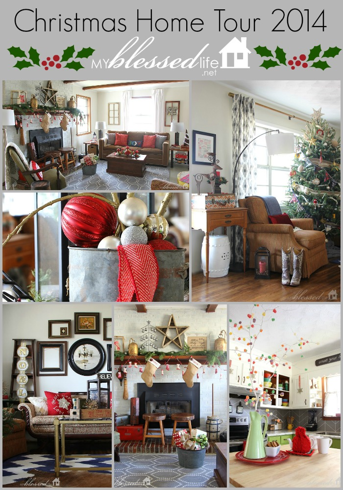 Christmas Home Tour 2014 | MyBlessedLife.net